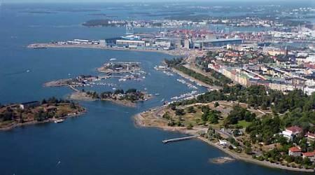 Elämyslento Helsinki